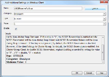 IntelliSnap - Advanced Snapshots - Windows File System