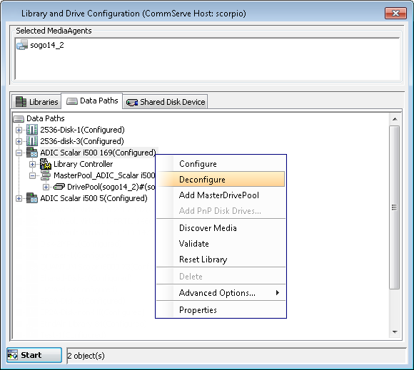Expert Storage Configuration - Advanced