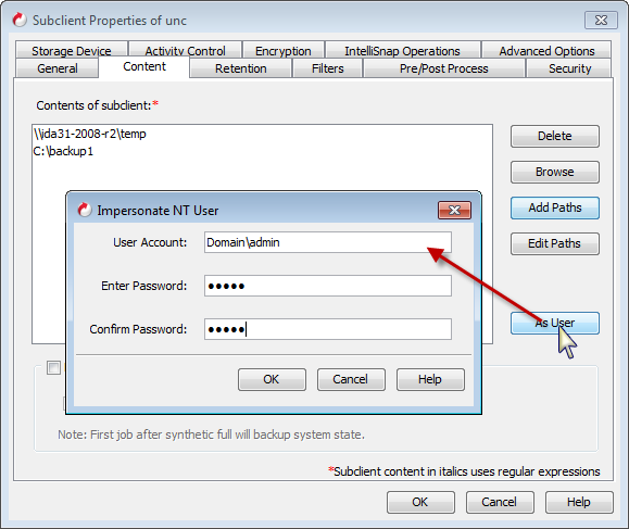 User Account and Password Management - Advanced