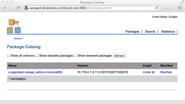 Creating a Solaris IPS Package