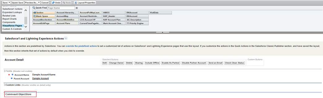 Installing the Commvault Application in Salesforce