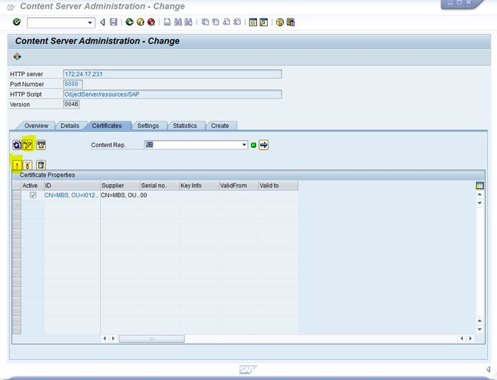 Object Link and SAP Archiving Interface