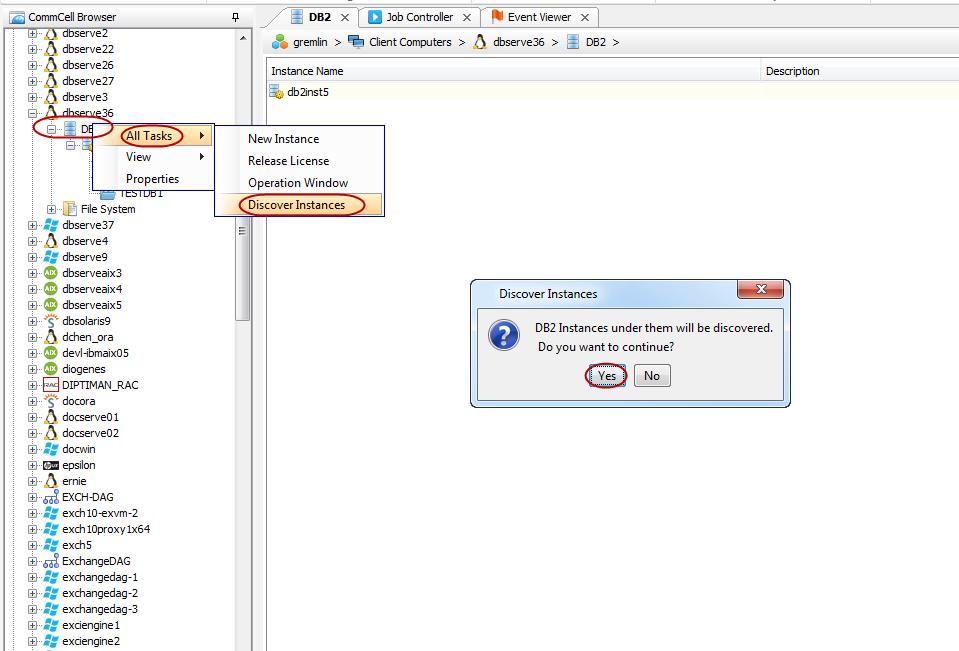 Advanced Configuration - DB2 iDataAgent