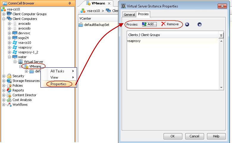 Advanced Configuration - IntelliSnap for VMware