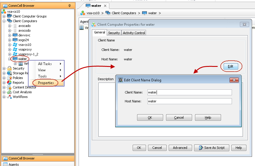 Advanced Configuration - IntelliSnap for VMware